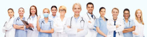 Happy Group Doctors